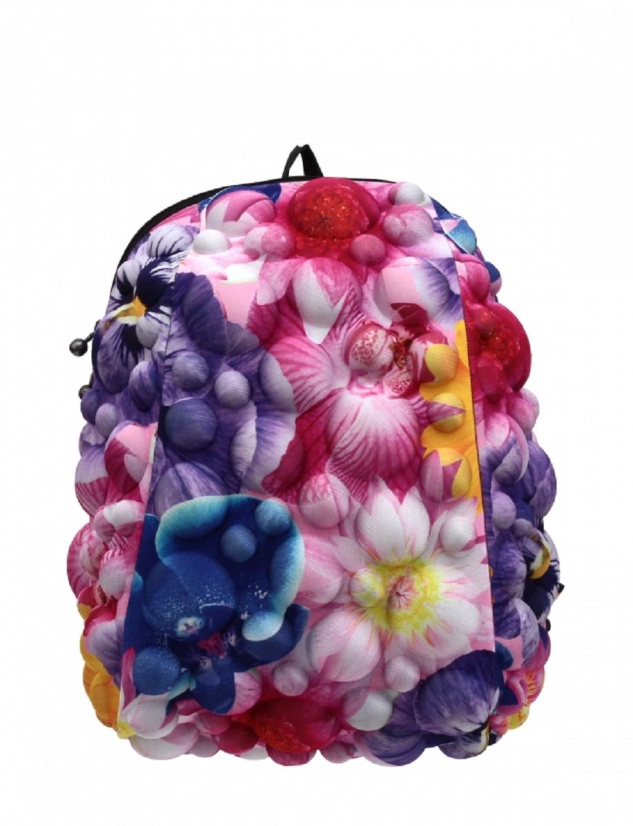 Рюкзак молодежный MadPax Bubble Half, 16 лKAA24484211Легкий и вместительный рюкзак с одним основным отделением с застежкой на молниии. В основное отделение с легкостью входит ноутбук размером диагонали 13 дюймов, iPad и формат А4. Незаменимый аксессуар как для активного городского жителя, так и для школьников и студентов. Широкие лямки можно регулировать для наиболее удобной посадки, а мягкая ортопедическая спинка делает ношение наиболее удобным и комфортным.