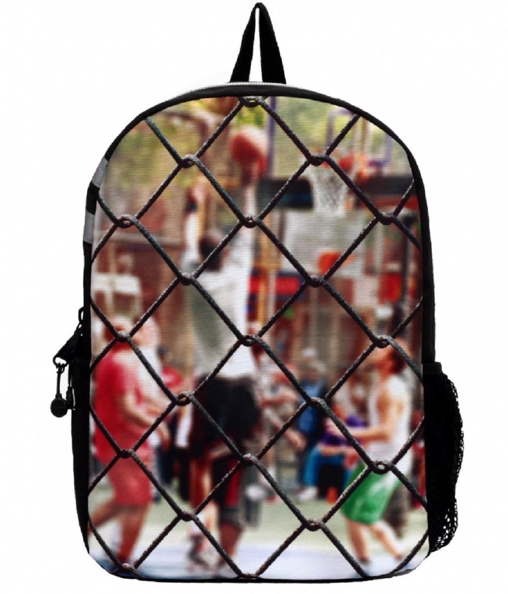 Рюкзак молодежный Mojo Sport Сетка, 20 лKAA9984571Этот стильный рюкзак от Mojo прекрасно сочетает в себе черты спорта и динамичного городского стиля. Расцветка и внешний вид рюкзака в виде сетки ворот и игроков за этой сеткой смотрится очень броско, стильно и оригинально.