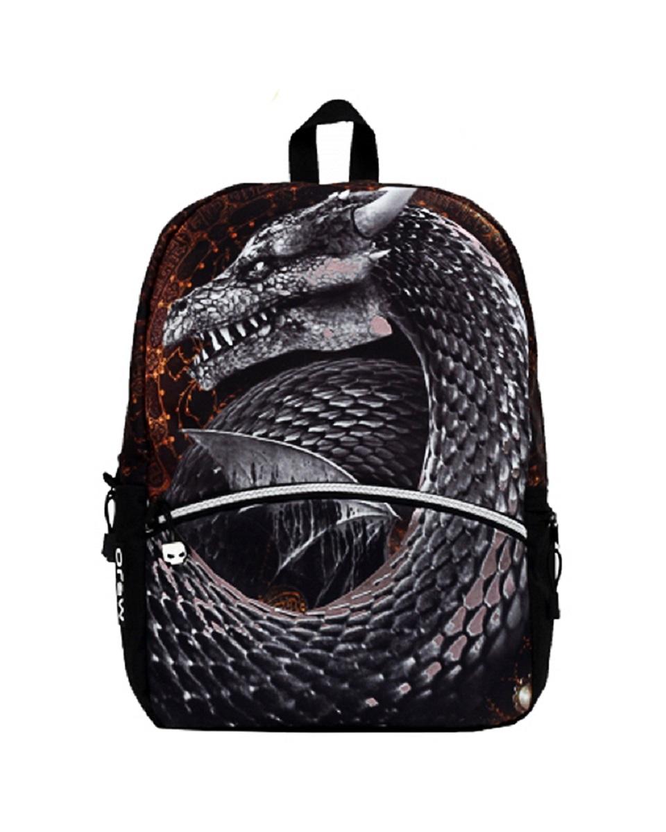 Рюкзак молодежный Mojo Silver Dragon, цвет: серый, 20 лKAA9984612Особенности рюкзака Mojo: Выполнен из высококачественного полиэстера и покрыт полиуретановым слоем, препятствующим выгоранию на солнце и проникновению внутрь воды. Вместительный отсек для вещей, а также отсек для планшета с плотной подкладкой. Переносить рюкзак удобно за прочную текстильную ручку. Уплотнены ремни, спинка и дно рюкзака. Мягкие регулируемые наплечные лямки. Фирменная массивная молния Mojo. Светится в ультрафиолете.