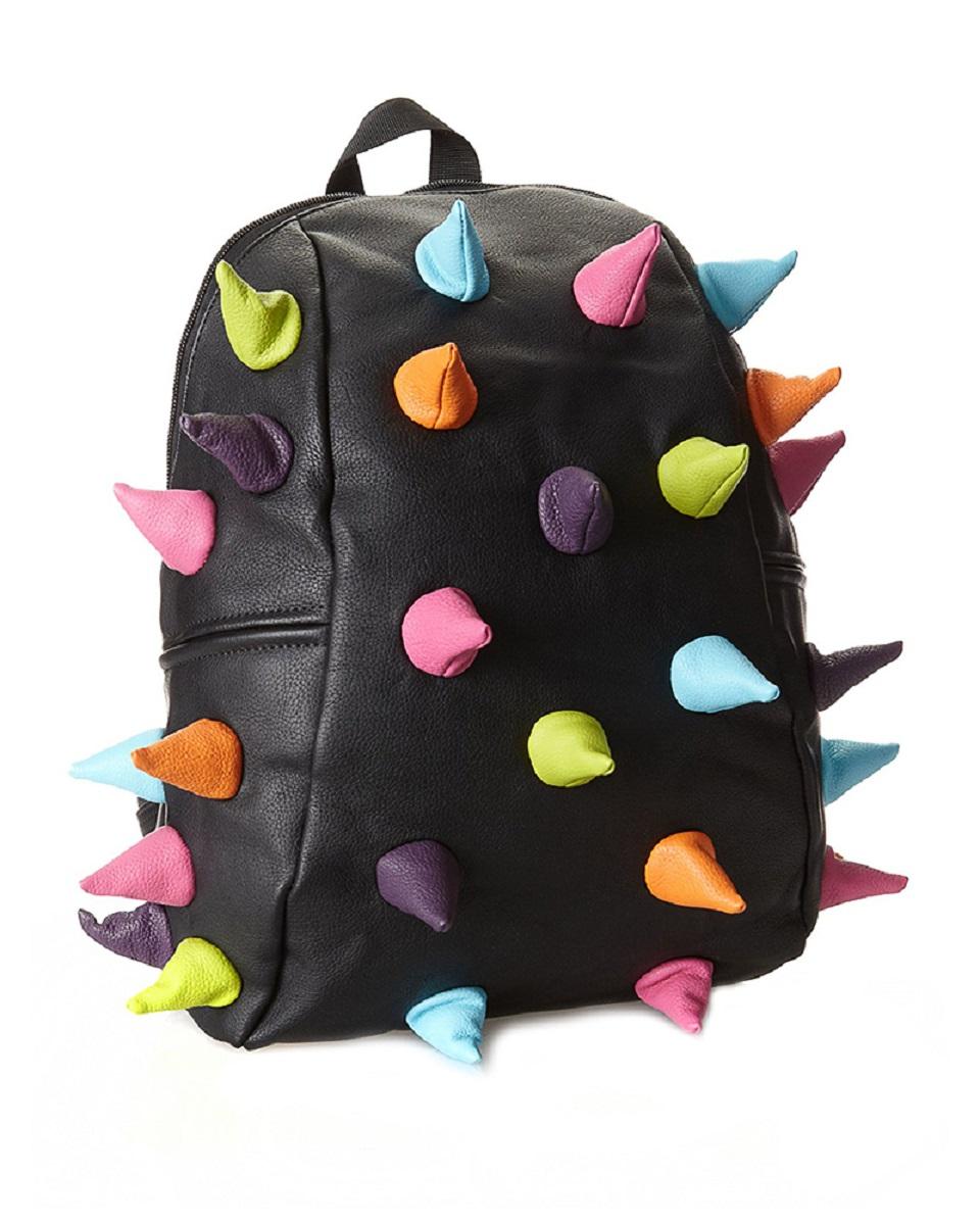 Рюкзак молодежный MadPax Rex Half Mascarade, 16 лKZ24483873Легкий и вместительный рюкзак с одним основным отделением с застежкой на молниии. В основное отделение с легкостью входит ноутбук размером диагонали 13 дюймов, iPad и формат А4. Незаменимый аксессуар как для активного городского жителя, так и для школьников и студентов. Широкие лямки можно регулировать для наиболее удобной посадки, а мягкая ортопедическая спинка делает ношение наиболее удобным и комфортным.