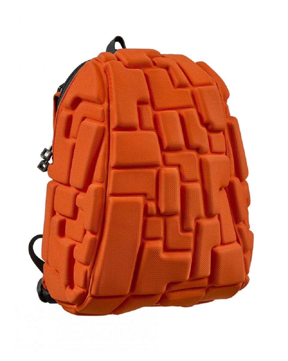 Рюкзак молодежный MadPax Blok Half, цвет: оранжевый, 16 лKZ24484018Легкий и вместительный рюкзак с одним основным отделением с застежкой на молниии. В основное отделение с легкостью входит ноутбук размером диагонали 13 дюймов, iPad и формат А4. Незаменимый аксессуар как для активного городского жителя, так и для школьников и студентов. Широкие лямки можно регулировать для наиболее удобной посадки, а мягкая ортопедическая спинка делает ношение наиболее удобным и комфортным.
