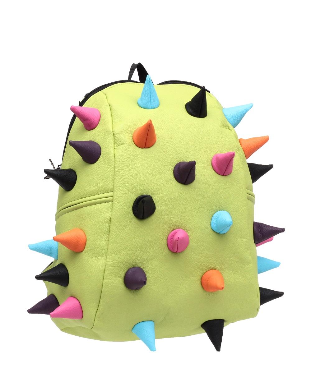 Рюкзак молодежный MadPax Rex Half, 16 лKZ24484108Легкий и вместительный рюкзак с одним основным отделением с застежкой на молниии. В основное отделение с легкостью входит ноутбук размером диагонали 13 дюймов, iPad и формат А4. Незаменимый аксессуар как для активного городского жителя, так и для школьников и студентов. Широкие лямки можно регулировать для наиболее удобной посадки, а мягкая ортопедическая спинка делает ношение наиболее удобным и комфортным