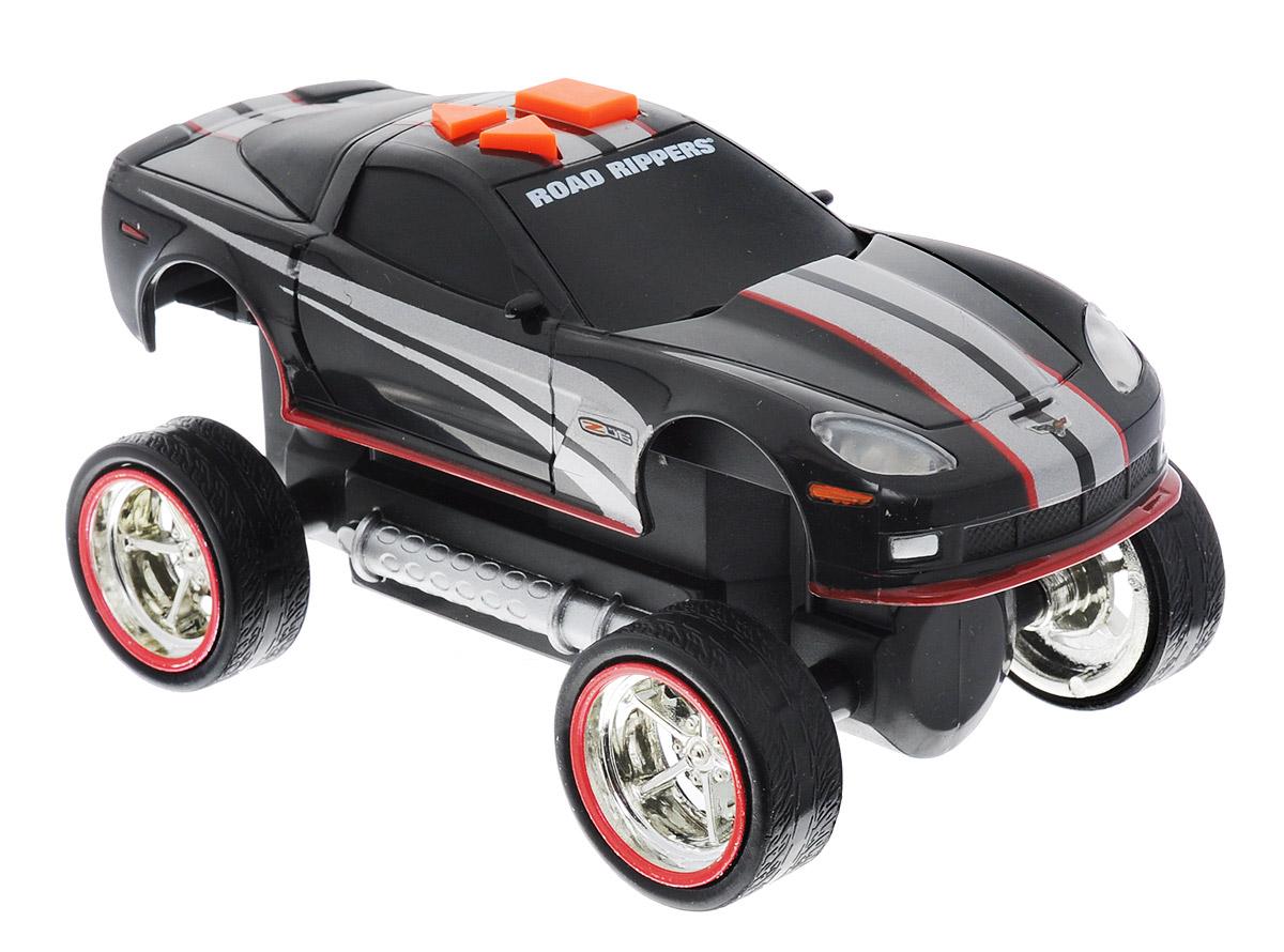 Toystate Машинка Street Screamer33121TS_черныйЯркая машинка Street Screamer со световыми и звуковыми эффектами, несомненно, понравится вашему ребенку и не позволит ему скучать. Игрушка выполнена в виде яркой гоночной машины. При нажатии на кнопки, расположенные на крыше, светятся фары, воспроизводятся звуки двигателя и включенной передачи заднего хода. Ваш ребенок часами будет играть с машинкой, придумывая различные истории и устраивая соревнования. Порадуйте его таким замечательным подарком! Для работы игрушки необходимы 3 батарейки типа ААА (товар комплектуется демонстрационными).