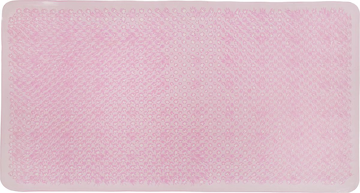 Коврик для ванной Vortex Травка, противоскользящий, цвет: розовый, 65 х 36 см15046_розовыйКоврик Vortex Травка, изготовленный из ПВХ, предназначен для использования в ванной комнате и душевой кабине против скольжения. Коврик крепится на дно ванны с помощью небольших присосок. Благодаря рельефной поверхности, коврик предотвращает скольжение и исключает возможность падения в ванне.