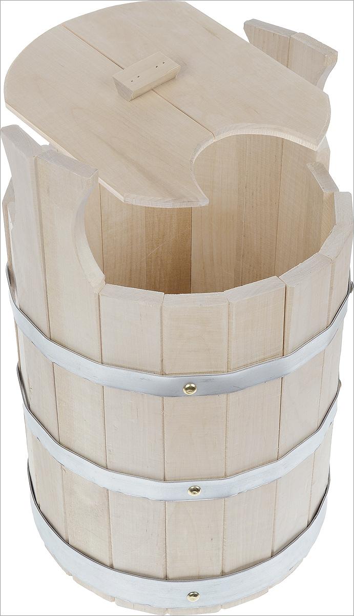 Запарник Proffi Sauna, с крышкой, 11 лPS0025Запарник Proffi Sauna, изготовленный из дерева (береза), доставит вам настоящее удовольствие от банной процедуры. При запаривании веник обретает свою природную силу и сохраняет полезные свойства. Корпус запарника состоит из металлических обручей, стянутых клепками. Для более удобного использования запарник имеет ручки. Эксплуатация бондарных изделий. Перед первым использованием бондарное изделие рекомендуется подготовить. Для этого нужно наполнить изделие холодной водой и оставить наполненным на 2-3 часа. Затем необходимо воду слить, обдать изделие сначала горячей, потом холодной водой. Не рекомендуется оставлять бондарные изделия около нагревательных приборов, а также под длительным воздействием прямых солнечных лучей. С момента начала использования бондарного изделия не рекомендуется оставлять его без воды на срок более 1 недели. Но и продолжительное время хранить в таких изделиях воду тоже не следует. После каждого использования необходимо вымыть и...