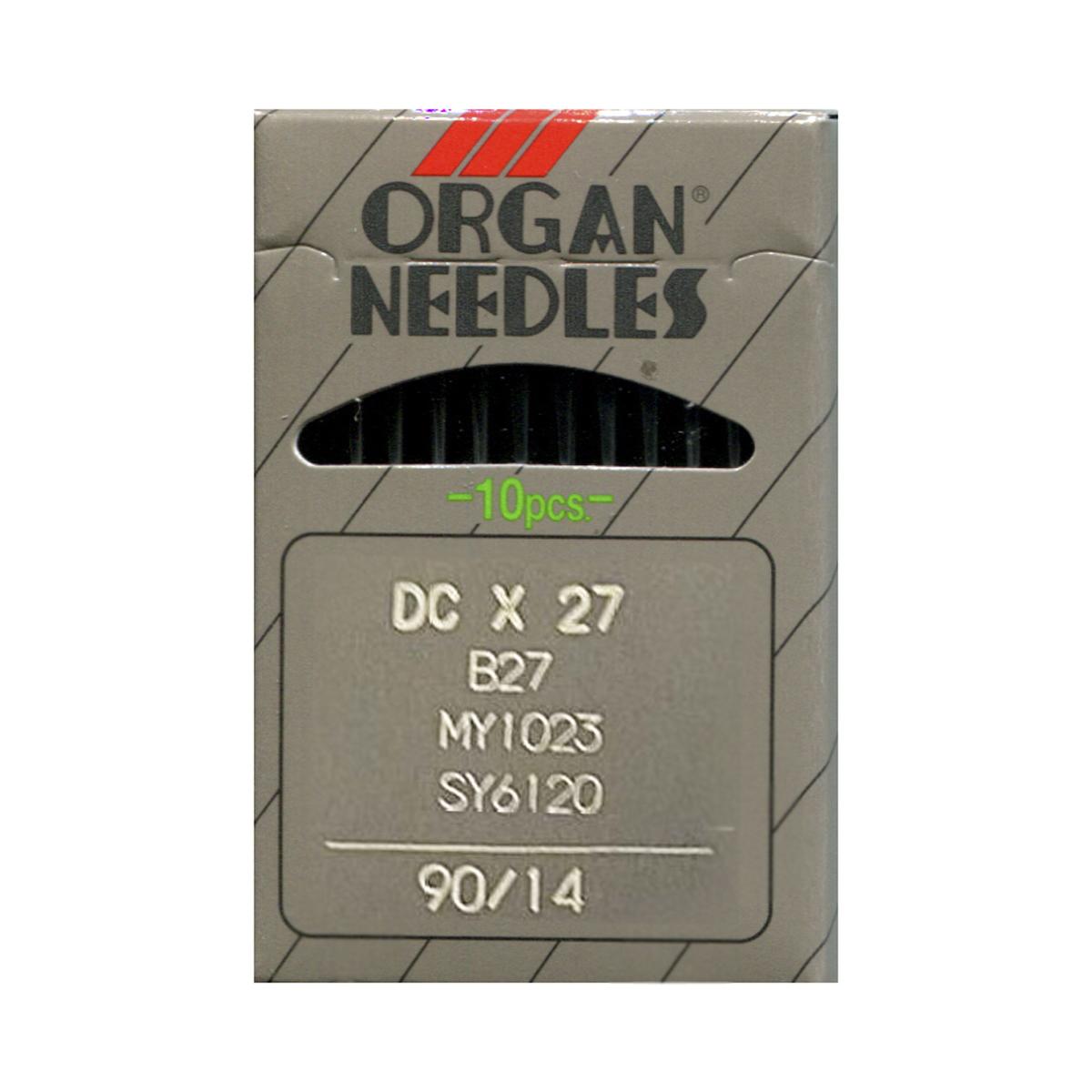Иглы для промышленных машин Organ DC x 27/ 90, 10 шт162267