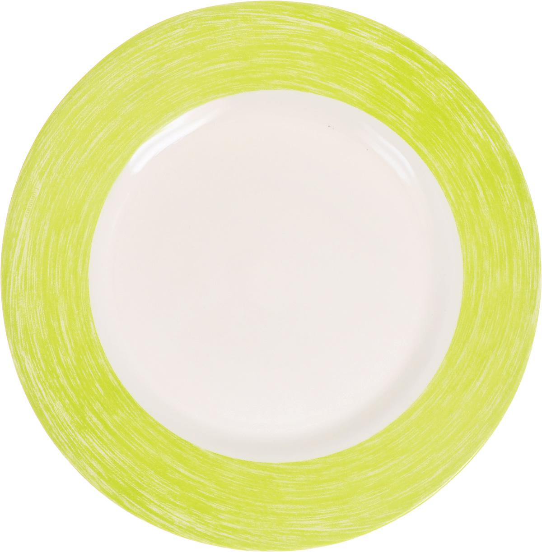 Тарелка десертная Luminarc Color Days Anis, 19 смL1497Десертная тарелка Luminarc Color Days Anis, изготовленная из ударопрочного стекла, декорирована цветной кромкой. Такая тарелка прекрасно подходит как для торжественных случаев, так и для повседневного использования. Идеальна для подачи десертов, пирожных, тортов и многого другого. Она прекрасно оформит стол и станет отличным дополнением к вашей коллекции кухонной посуды. Диаметр тарелки (по верхнему краю): 19 см. Высота тарелки: 1,5 см.