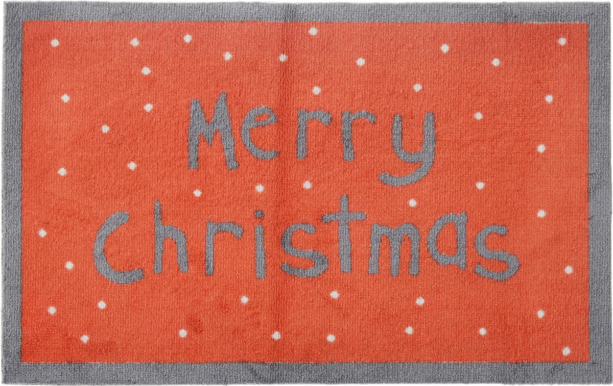 Коврик придверный Gardman Merry Christmas, 50 х 75 см82590XSПридверный коврик Gardman Merry Christmas, изготовленный из нейлона на основе ПВХ, оформлен ярким изображением. Он прост в обслуживании, прочный и устойчивый к различным погодным условиям. Коврик Gardman Merry Christmas дополнит интерьер прихожей и надежно защитит помещение от уличной пыли и грязи.