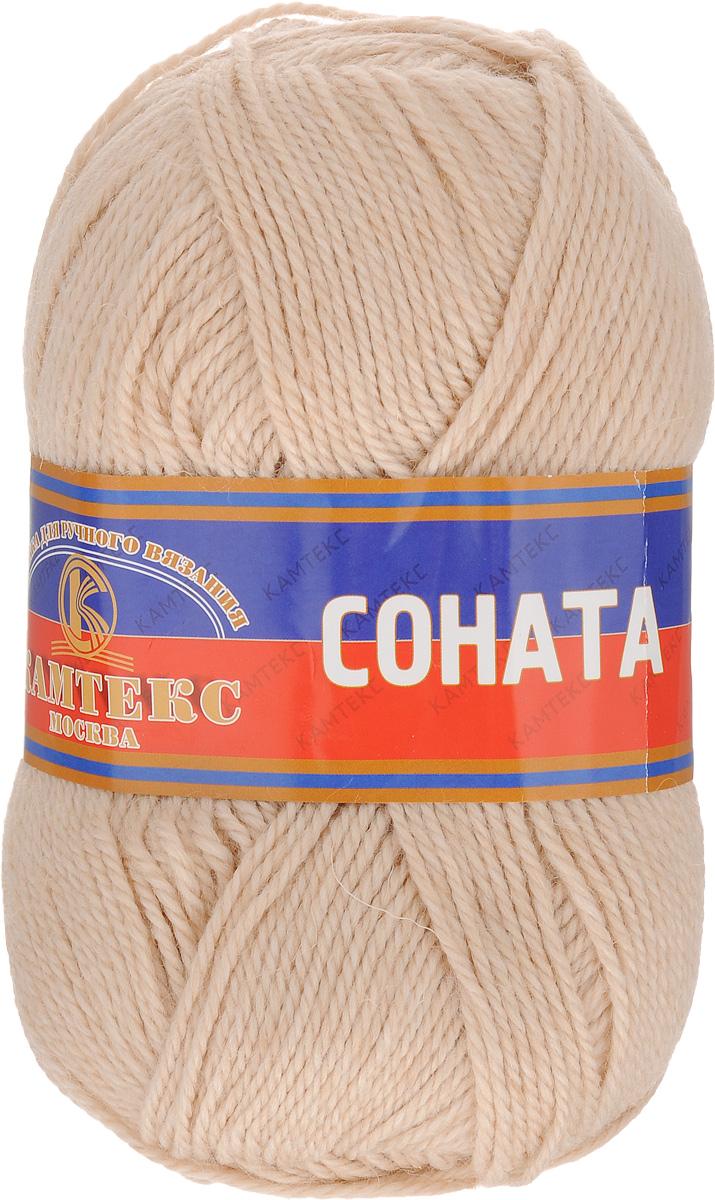 Пряжа для вязания Камтекс Соната, цвет: топленое молоко (188), 250 м, 100 г, 10 шт136030_188Пряжа для вязания Камтекс Соната изготовлена из 50% шерсти, 50% акрила. Она вяжется легко и свободно, имеет богатую цветовую гамму от теплых пастельных тонов до ярких и смелых оттенков. Ворсистая ниточка ровно складывается в полотно, которое имеет минимальный процент усадки. Из пряжи Соната прекрасно вяжутся теплые туники, жилеты, свитера, платья и многие другие изделия. Рекомендуемые для вязания спицы и крючки 3-5 мм. Состав: 50% шерсть, 50% акрил. Комплектация: 10 шт. Толщина нити: 2 мм.