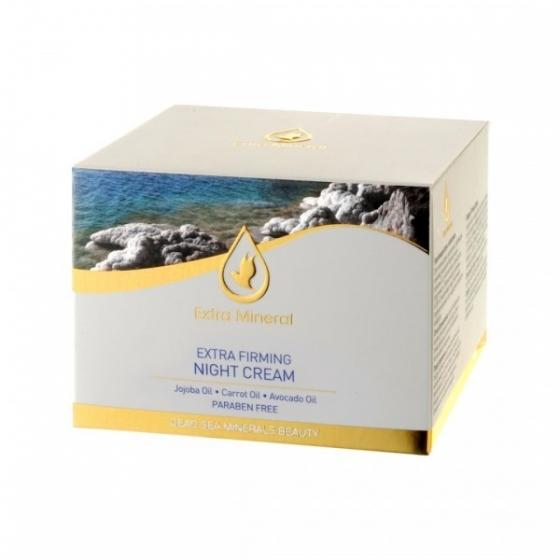 Extra Mineral Активный укрепляющий ночной крем 50 млEXM1500Активный питательный ночной крем, обогащенный витаминами А, Е и С для нормальной и сухой кожи, действует на клетки кожи во время ночного сна. Содержит минералы Мертвого моря, витамины А и В5, растительные экстракты моркови и жожоба. Способствует омоложению клеток кожи, глубоко питает, увлажняет, успокаивает и защищает кожу, придавая лицу более яркий сияющий приятный вид; стимулирует выработку коллагена, делает кожу нежной, упругой и эластичной, показывает отличный результат сразу после первого применения. Рекомендуется ежедневное применение.