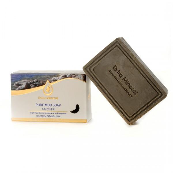 Extra Mineral Грязевое мыло 125 гEXM1800Грязевое мыло Extra Mineral. Мыло с высокой концентрацией грязи Мертвого моря. Содержит 26 минералов Мертвого моря, оказывает активное положительное воздействие на кожу и волосы. Навсегда избавляет от прыщей, устраняет угревую сыпь и черные точки, глубоко очищает и увлажняет кожу, осветляет пигментные пятна, стимулирует регенерацию эпидермиса, уменьшает морщины, сглаживает рубцы и шрамы, замедляет старение кожи, убирает жирный блеск, обладает сильнейшими гипоаллергенными свойствами, помогает при дерматитах любого происхождения, является сильнейшим природным антисептическим средством, не содержит агрессивных и вредных для человека химических компонентов, благотворно влияет на кожу лица, головы и тела. Можно использовать вместо шампуня при уходе за волосами. Показано для ежедневного применения. Очень активно увлажняет кожу тела, лица и головы. Рекомендуется для всех типов кожи и волос.
