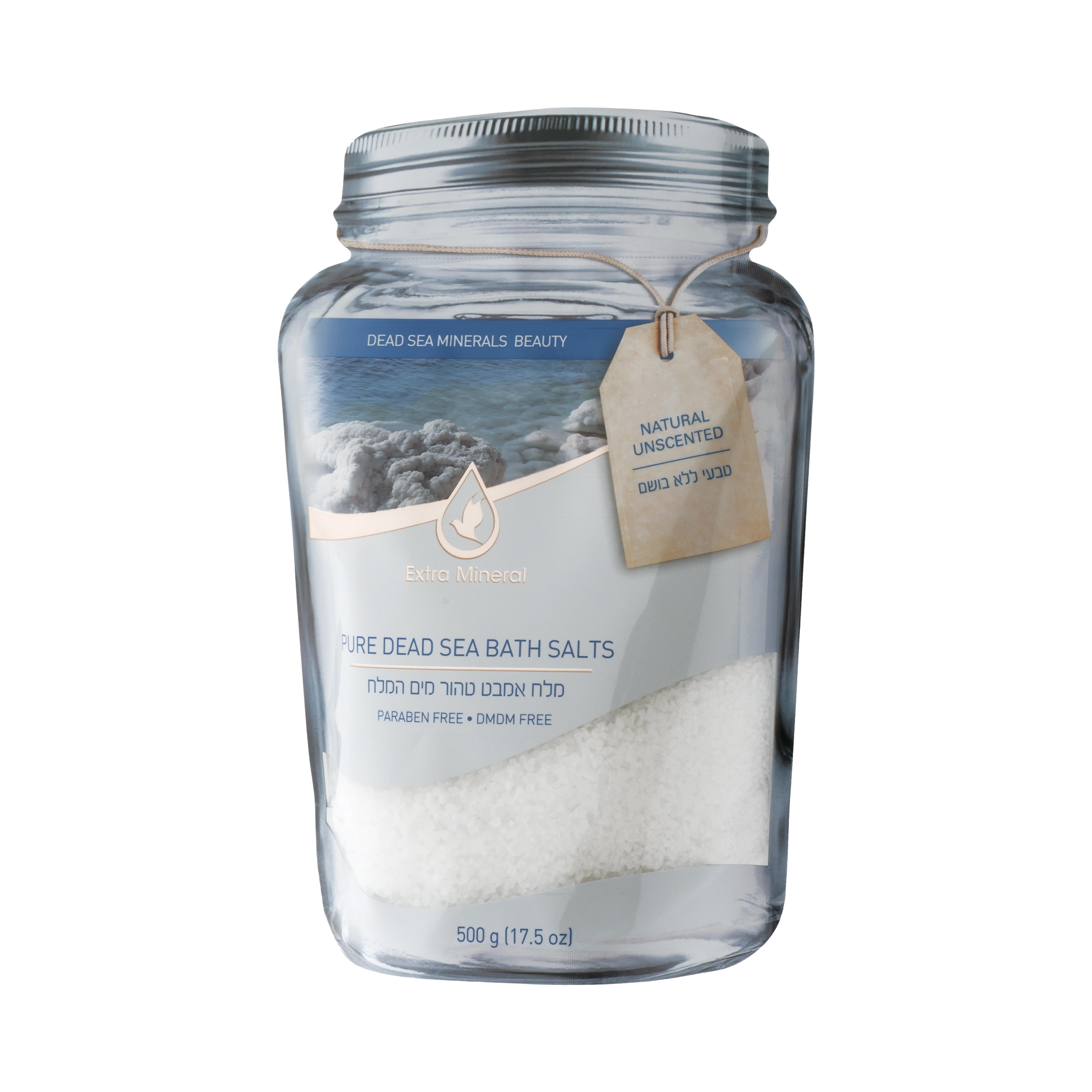 Extra Mineral Неароматизированная натуральная соль мертвого моря для ванн 500 млEXM2304Соль Мертвого моря Extra Mineral. Натуральный аромат. 100% соль Мертвого моря, обогащенная минералами Мертвого моря с естественным натуральным ароматом Мертвого моря. Соль Мертвого моря благотворно влияет на кожу и организм в целом, питая кожу минералами Мертвого моря, снимая напряжение в мышцах, органах, расслабляя и погружая в томную негу. Позвольте себе испытать ощущение полного расслабления на волшебном берегу Мертвого моря. Уникальная упаковка позволяет открывать и закрывать тубу многократно, сохраняя полезные свойства и аромат соли Мертвого моря Extra Mineral.
