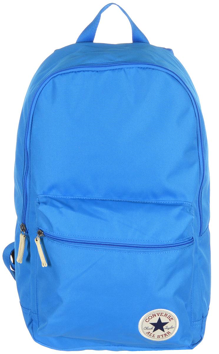 Рюкзак городской Converse Core Poly Backpack, цвет: голубой. 13650C453