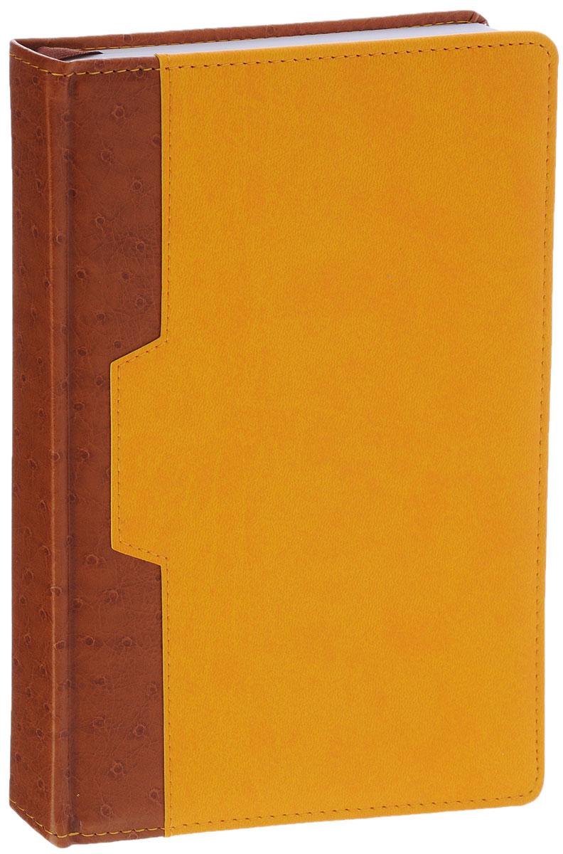 Index Ежедневник Desert недатированный 168 листов цвет коричневый желтый