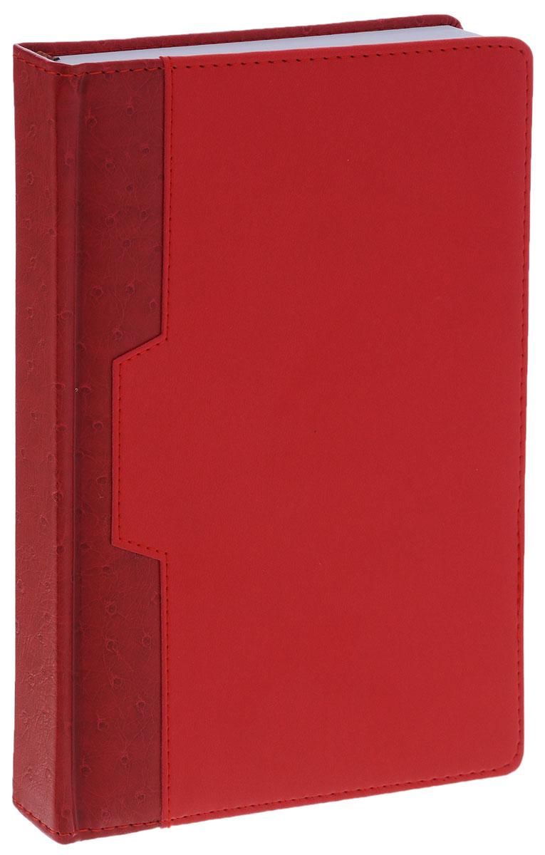 Index Ежедневник Desert недатированный 168 листов цвет красный бордовый