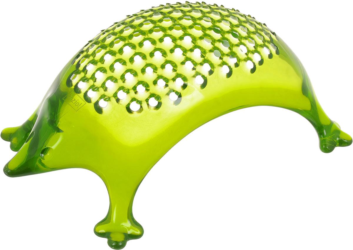 Терка для сыра Koziol Kasimir, цвет: оливковый, длина 16 см004.022900.006Терка Koziol Kasimir выполнена из пластика. Изделие предназначено для натирания сыров и других мягких продуктов. Оригинальный дизайн и практичное исполнение терки порадует каждую хозяйку. Размер терки: 16 х 10 х 7 см. Размер рабочей поверхности терки: 11 х 6,5 см.