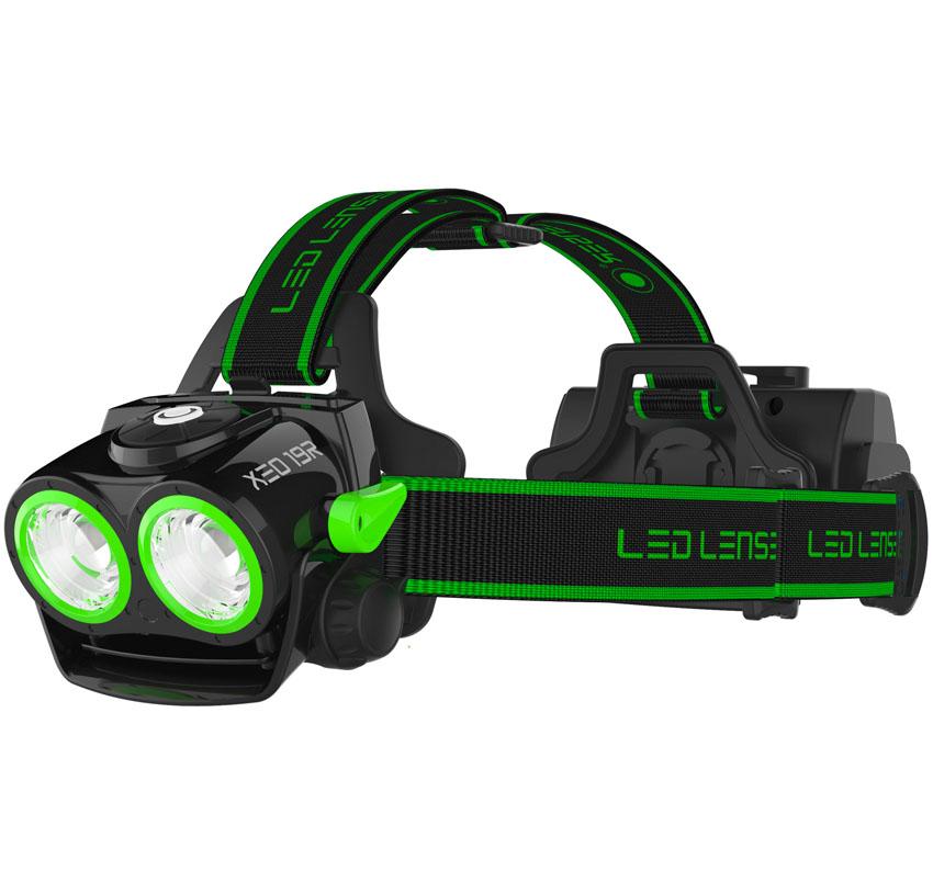 Фонарь LED Lenser XEO 19R, цвет: зеленый7319-RGCветодиодный налобный фонарь XEO 19R зеленый, Световой поток -2000/200лм. Питание - 1x 18650 Li-ion (литий-ионный аккумклятор) ,Потребляемая мощность - 38,48 ватт/час , Время свечения - 4/20 ч. Дальность свечения - 300/100 м, время зарядки -8 часов. Адаптивная фокусная система AFS, cистема охлаждения SPEED COOLING -при увеличении скорости движения-увелич.охлаждение и яркость,optisense - интегрированный сенсор яркости -отражение света в реальном времени, SLT-Система микропроцессорного контроля режимов освещения (форсаж,полная мощность,малая мощность,реальное время,аварийный, стробоскоп) X-lens Technology- две синхорнизованные рефлекторныйе линзы,возможность зарядки фотоаппарата и телефона. Неопреновая упаковка для батарейного отсека -1 шт. Вес фонаря с аккум.-472 гр. Картонно-блистерная упаковка.