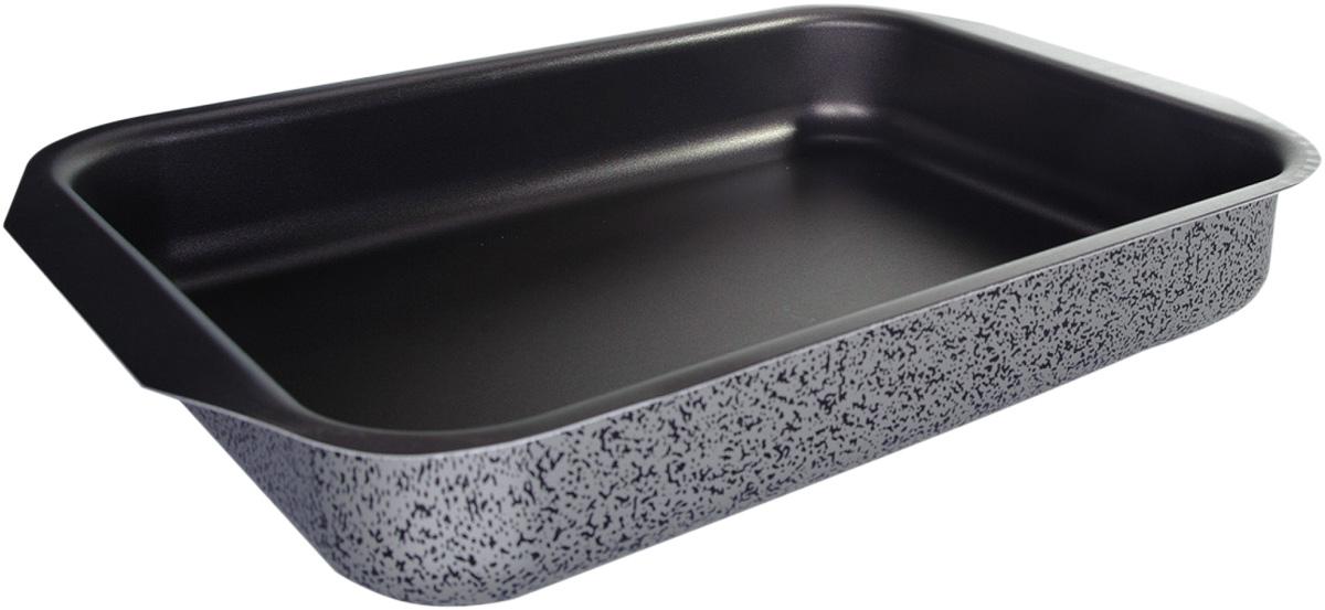Противень Vari Scandia, цвет: мраморный, 27 х 35 смС21350Посуда Scandia - классическая штампованная алюминиевая посуда с антипригарным покрытием SKANDIA. Легкая и удобная, посуда Scandia обладает быстрым нагревом благодаря толщине стенок до 3 мм. Имеет оригинальный, броский, легко узнаваемый дизайн. Легко моется. Походит для посудомоечных машин. Не выделяет вредных веществ. Не содержит PFOA. На посуде Scandia можно готовить широкий спектр блюд - котлеты, тушеное мясо, пироги, домашнюю пиццу. И все это за минимальное время.