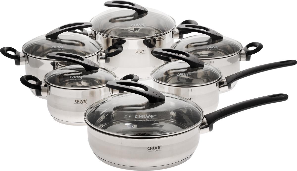"""Набор посуды """"Calve"""", 12 предметов. CL-1054"""