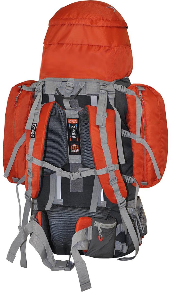 Рюкзак экспедиционный NOVA TOUR Абакан 130, цвет: серый, терракотовый, 85л95769-253-00В модели используется очень прочная ткань (600D) совместно с облегченной тканью (300D). Каркас состоит из двух металлических лат - это гарантирует прочность. Два больших боковых кармана на молнии создают дополнительный объем. Боковые оттяжки пояса помогут точно подогнать посадку рюкзака на пояс - это очень удобно при переноске тяжелого груза. Отделение с нижним входом обеспечивает быстрый доступ к снаряжению. Специальная система крепления позволяет надежно закрепить дополнительное снаряжение на фронтальной части изделия и сверху клапана. Для более удобной погрузки собранного рюкзака три ручки для переноски обшиты тканью.; Плавающий клапан Подвеска ABS 2 Ткань 600D Polyester ripstop Узлы крепления горного снаряжения Грудная стяжка Фурнитура Duraflex Боковые стяжки Вес (кг) 2,7 Объем (л) 130 Высота-ширина-глубина, см 94 х 31 х 32