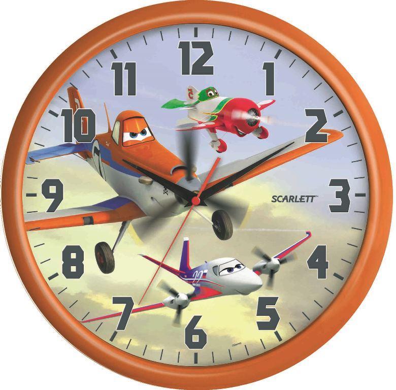 Часы настенные Scarlett, диаметр 29 см. SC - WCD06PLSC - WCD06PLНастенные кварцевые часы Scarlett , изготовленные из пластика, прекрасно впишутся в интерьер вашего дома. Круглые часы имеют три стрелки: часовую, минутную и секундную, циферблат защищен прозрачным пластиком. Часы работают от 1 батарейки типа АА напряжением 1,5 В (батарейка в комплект не входит). Диаметр часов: 29 см.