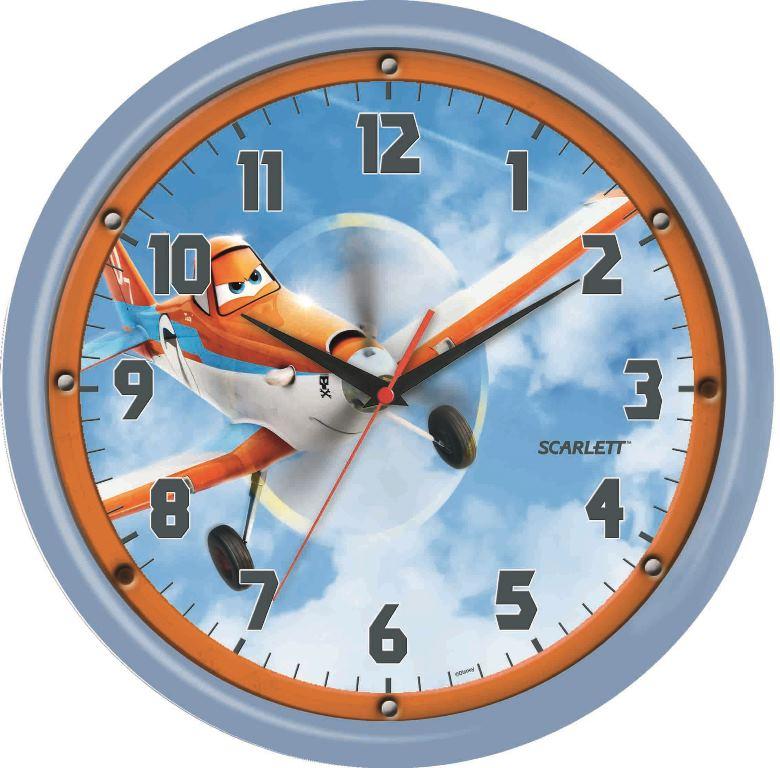 Часы настенные Scarlett, диаметр 29 см. SC - WCD05PLSC - WCD05PLНастенные кварцевые часы Scarlett, изготовленные из пластика, прекрасно впишутся в интерьер вашего дома. Круглые часы имеют три стрелки: часовую, минутную и секундную, циферблат защищен прозрачным пластиком. Часы работают от 1 батарейки типа АА напряжением 1,5 В (батарейка в комплект не входит). Часы бренда Scarlett - это надежность, качество и изящность стиля во все времена. Диаметр часов: 29 см.