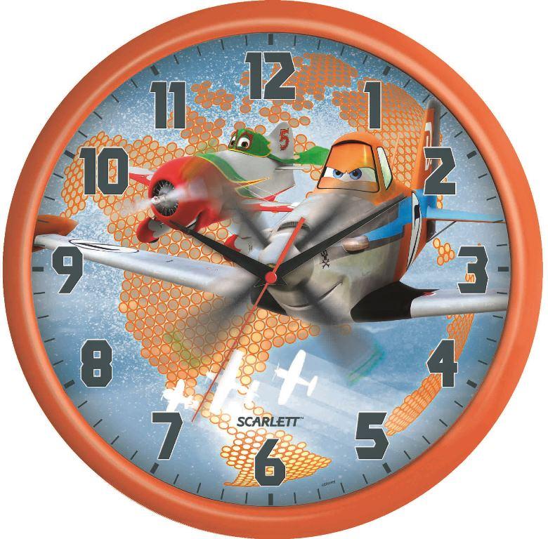 Часы настенные Scarlett, диаметр 29 см. SC - WCD12PLSC - WCD12PLНастенные кварцевые часы Scarlett, изготовленные из пластика, прекрасно впишутся в интерьер вашего дома. Круглые часы имеют три стрелки: часовую, минутную и секундную, циферблат защищен прозрачным пластиком. Часы работают от 1 батарейки типа АА напряжением 1,5 В (батарейка в комплект не входит). Часы бренда Scarlett - это надежность, качество и изящность стиля во все времена. Диаметр часов: 29 см.