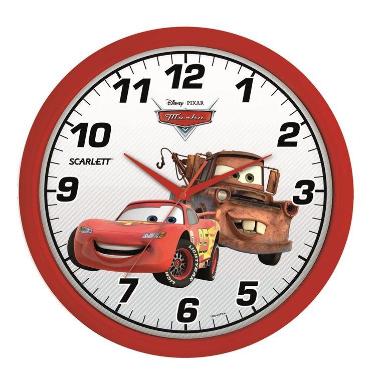 Часы настенные Scarlett, диаметр 29 см. SC - WCD04CSC - WCD04CНастенные кварцевые часы Scarlett, изготовленные из пластика, прекрасно впишутся в интерьер вашего дома. Круглые часы имеют три стрелки: часовую, минутную и секундную, циферблат защищен прозрачным пластиком. Часы работают от 1 батарейки типа АА напряжением 1,5 В (батарейка в комплект не входит). Часы бренда Scarlett - это надежность, качество и изящность стиля во все времена. Диаметр часов: 29 см.
