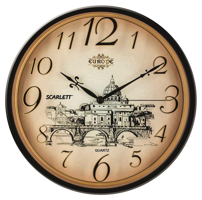 Интерьерные часы Scarlett SC - WC1001I