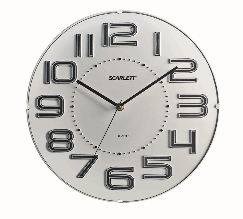 "Часы настенные ""Scarlett"", диаметр 32 см. SC - 55O"