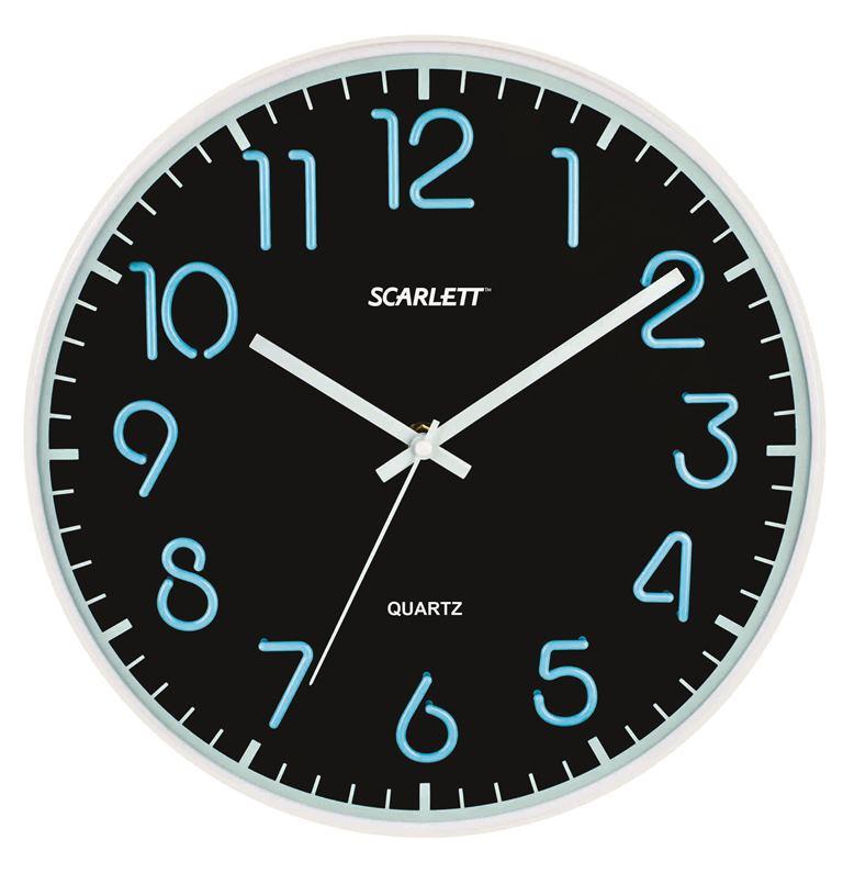 Офисные часы Scarlett SC - WC1007O