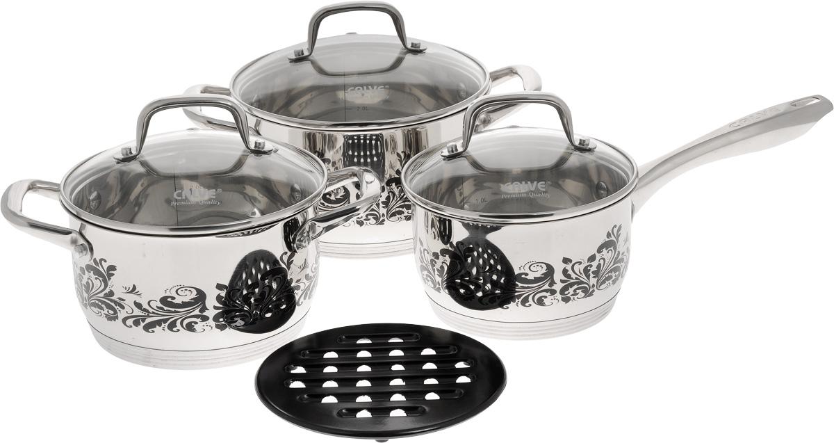 """Набор посуды """"Calve"""", 7 предметов. CL-1879"""