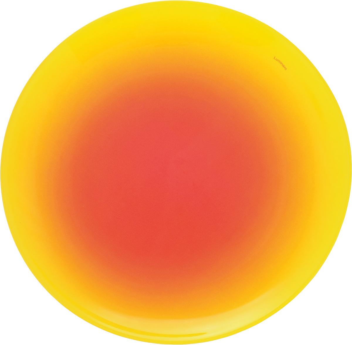 Тарелка десертная Luminarc Fizz Lemon, диаметр 20 смG9551Десертная тарелка Luminarc Fizz Lemon, изготовленная из ударопрочного стекла, декорирована градиентным рисунком. Такая тарелка прекрасно подходит как для торжественных случаев, так и для повседневного использования. Идеальна для подачи десертов, пирожных, тортов и многого другого. Она прекрасно оформит стол и станет отличным дополнением к вашей коллекции кухонной посуды. Диаметр тарелки: 20 см. Высота тарелки: 1,5 см.