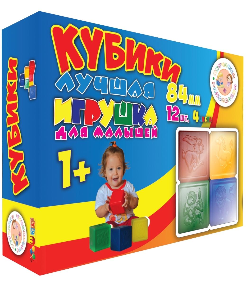 Тотошка Кубики выдувныетт00-065Для крохи знакомство с кубиком начинается с ознакомительных экспериментальных действий: бросание, ощупывание, перекатывание. Малыш начинает манипулировать предметами. Этот набор прекрасно подойдет и для юных строителей. С помощью этого набора ребенок научится строить дома, башни, ставя квадратные детали друг на друга, делать змейки на плоскости. Набор знакомит детей с основными цветами. Кубики имеют яркие желтый, синий, красный и зеленый цвета. Так же кубики знакомят ребят с животнами и птицами. Ребята по старше с помощью набора могут учиться и развивать логическое мышление. Кубики выполнены из легких не бьющихся, легко моющихся высококачественных материалов с использованием пищевых красителей, имеют безопасную форму без острых углов, абсолютно безопасны для здоровья ребенка.