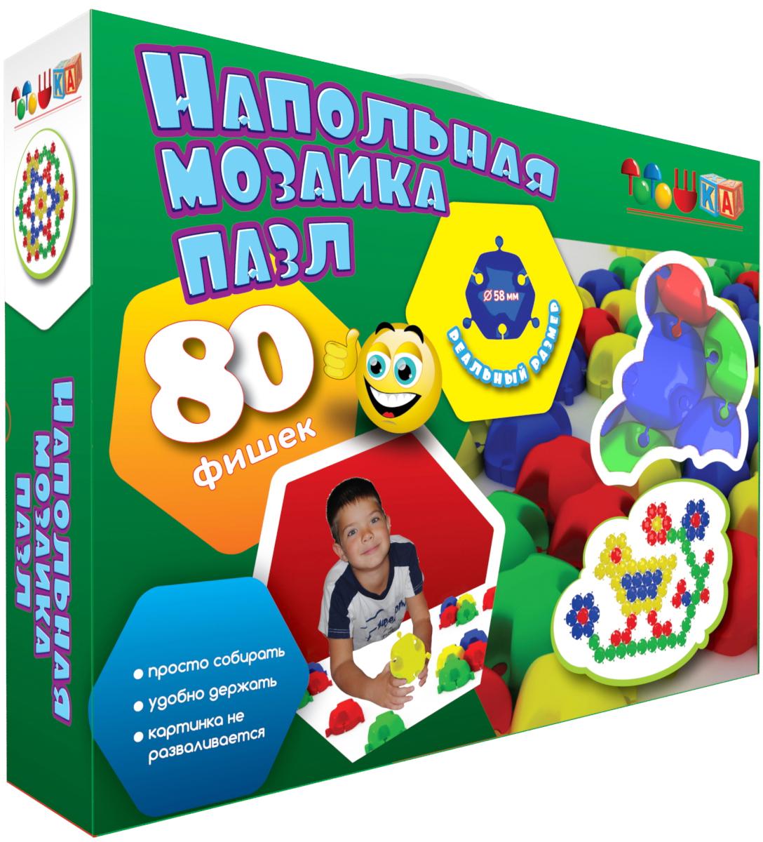 Тотошка Мозаика напольная 80 элементов