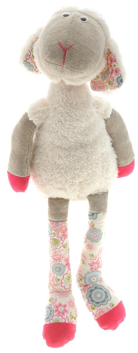 Trudi Мягкая игрушка Овечка Луиза 43 см19424Очаровательная мягкая игрушка Trudi Овечка Луиза выполнена в виде трогательной овечки. Луиза изготовлена из высококачественного текстильного материала. Игрушка невероятно мягкая и приятная на ощупь, вам не захочется выпускать ее из рук. Тело и лапки овечки имеют разную фактуру, что способствует развитию тактильных навыков малыша. Ножки и ушки овечки оформлены вставкой с ярким принтом. Удивительно мягкая игрушка принесет радость и подарит своему обладателю мгновения нежных объятий и приятных воспоминаний. Специальные гранулы, используемые при ее набивке, способствуют развитию мелкой моторики рук малыша. Великолепное качество исполнения делают эту игрушку чудесным подарком к любому празднику. Трогательная и симпатичная, она непременно вызовет улыбку у детей и взрослых.