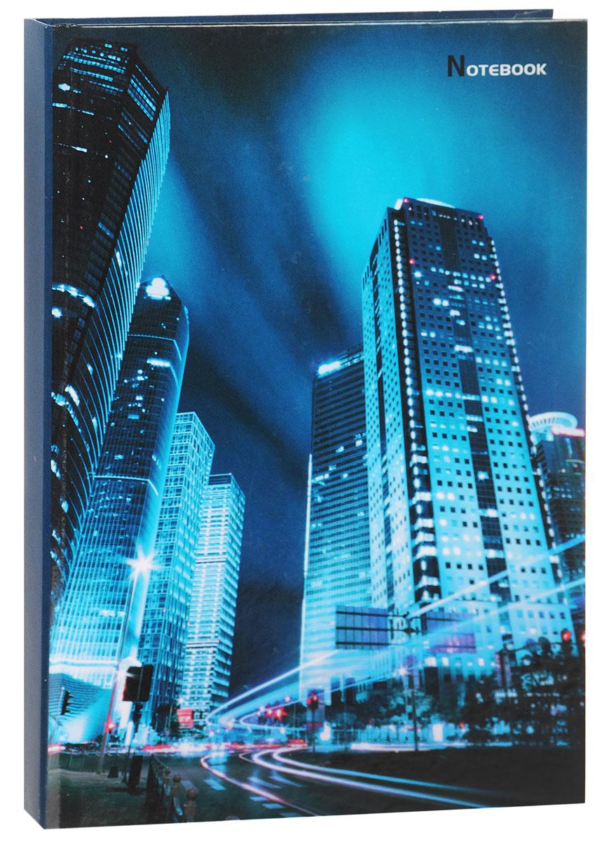 Listoff Записная книжка Ночной мегаполис 130 листов в клеткуКЗ51301745Записная книжка Listoff Ночной мегаполис - незаменимый атрибут современного человека, необходимый для рабочих и повседневных записей в офисе и дома. Записная книжка содержит 130 листов формата А5 в клетку без полей. Обложка, выполненная из ламинированного картона, украшена изображением ночного города. Внутренний блок изготовлен из высококачественной плотной бумаги, что гарантирует чистоту записей и отсутствие клякс. Записная книжка Listoff Ночной мегаполис станет достойным аксессуаром среди ваших канцелярских принадлежностей. Она подойдет как для деловых людей, так и для любителей записывать свои мысли, рисовать скетчи, делать наброски.