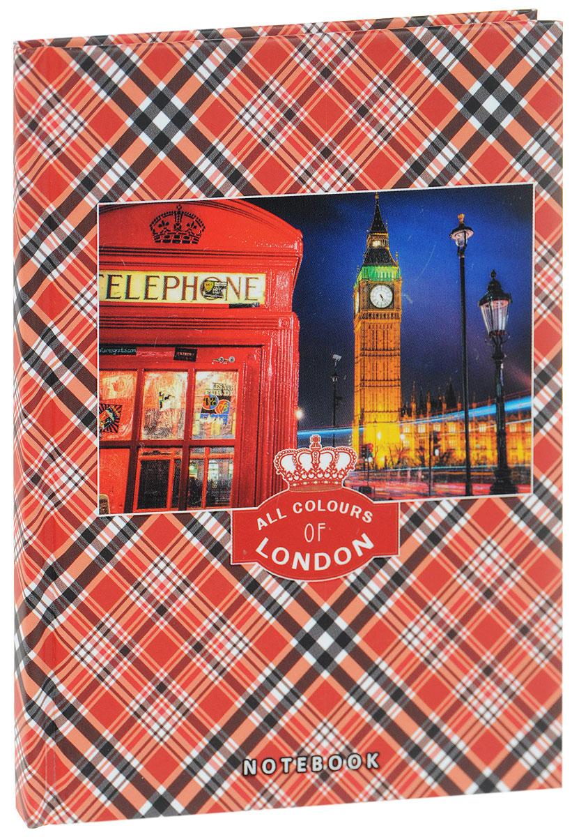 Listoff Записная книжка Все краски Лондона 80 листов в клетку