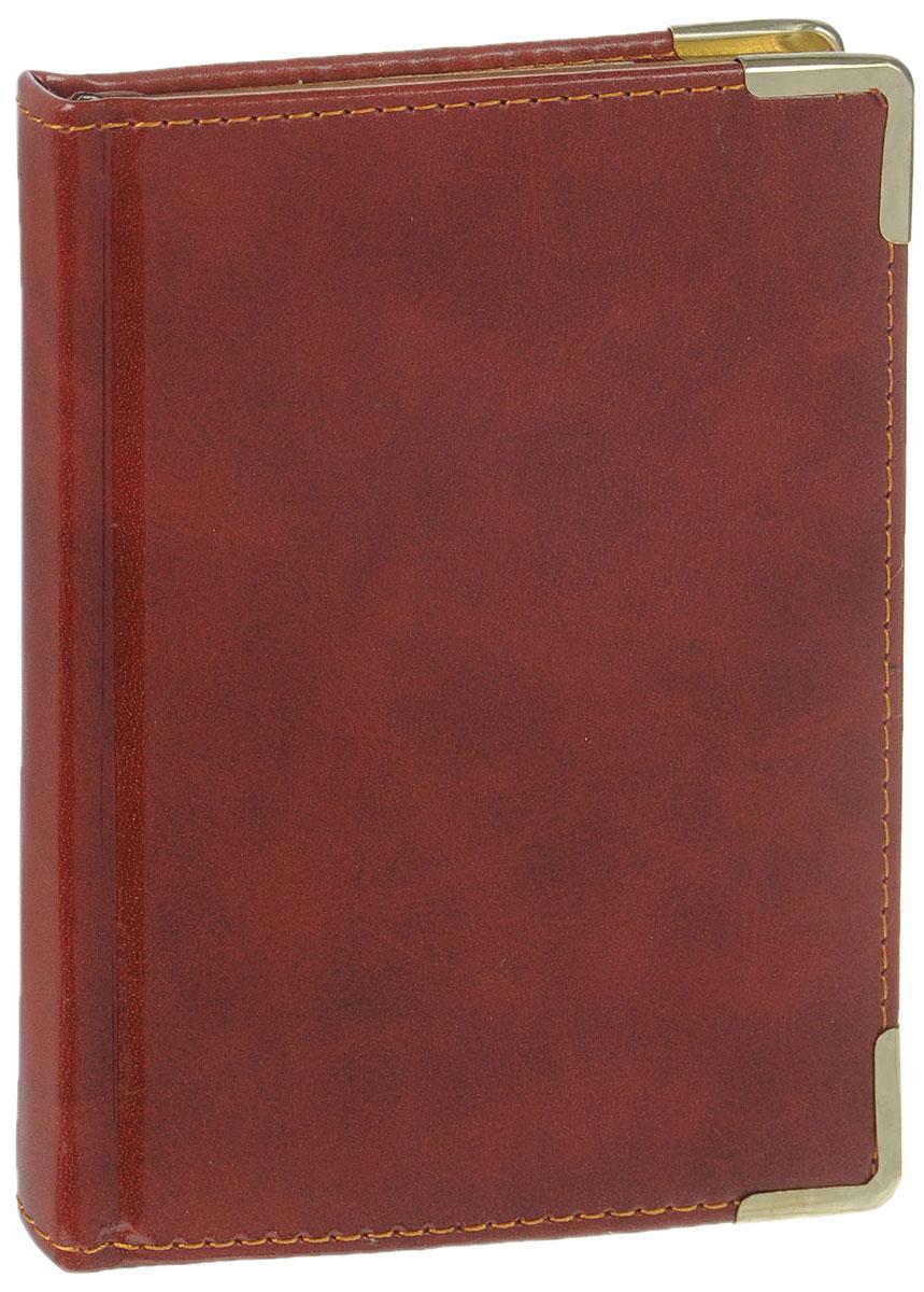 Listoff Записная книжка Ancient 96 листов в клеткуКЗК6961667Записная книжка Listoff Ancient - незаменимый атрибут современного человека, необходимый для рабочих и повседневных записей в офисе и дома. Записная книжка содержит 96 листов формата А6 в клетку. Обложка выполнена из искусственной кожи и прошита по периферии нитками. Металлические скругленные углы защищают обложку при активном использовании. Внутренний блок изготовлен из высококачественной плотной состаренной бумаги с золотым обрезом, что гарантирует чистоту записей и отсутствие клякс. Атласное ляссе поможет быстро найти нужную страницу. Записная книжка Listoff Ancient станет достойным аксессуаром среди ваших канцелярских принадлежностей. Она подойдет как для деловых людей, так и для любителей записывать свои мысли, рисовать скетчи, делать наброски.