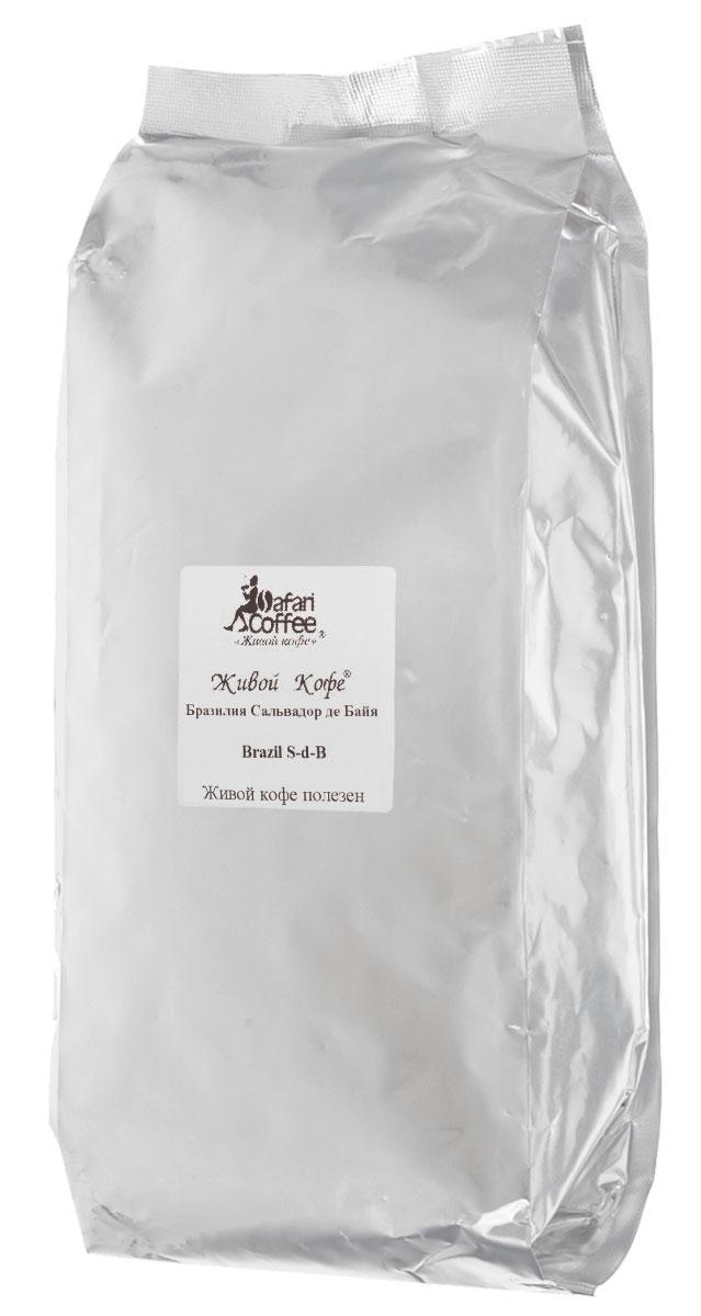 Живой Кофе Бразилия Сальвадор де Байя кофе в зернах, 1 кг (промышленная упаковка)950Бразилия Сальвадор де Байя произрастает на плоскогорьях в непосредственной близости от границы с тропической зоной и здесь часто бывают заморозки. Исключительная особенность этого кофе заключается в том, что он является морозоустойчивым. Тем самым похолодание только усиливает великолепные характеристики данного сорта.
