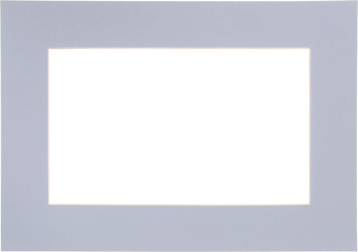 Паспарту Василиса, цвет: светло-голубой, 21 х 30 см580898Паспарту Василиса, изготовленное из плотного картона, предназначено для оформления художественных работ и фотографий. Оно располагается между багетной рамой и изображением, делая акцент на фотографии, усиливая ее визуальное восприятие. Кроме того, на паспарту часто располагают поясняющие подписи, автограф изображенного. Внешний размер: 21 х 30 см. Внутренний размер: 13 х 22 см.