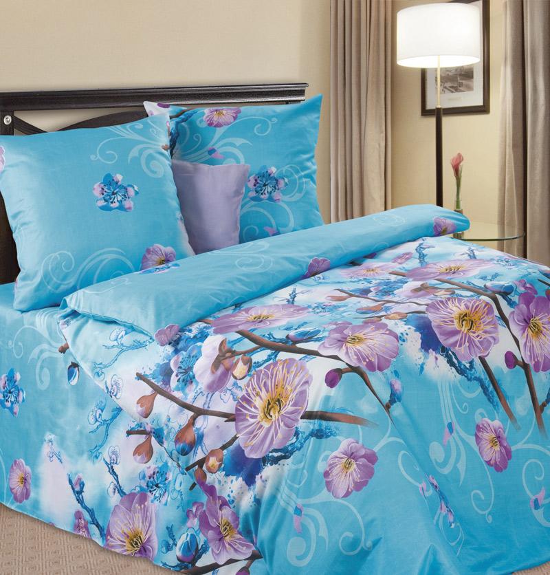 Комплект белья P&W Белый цвет, 1,5-спальный, микрофибра, наволочки 70 x 70 смPW-69-143-145-69