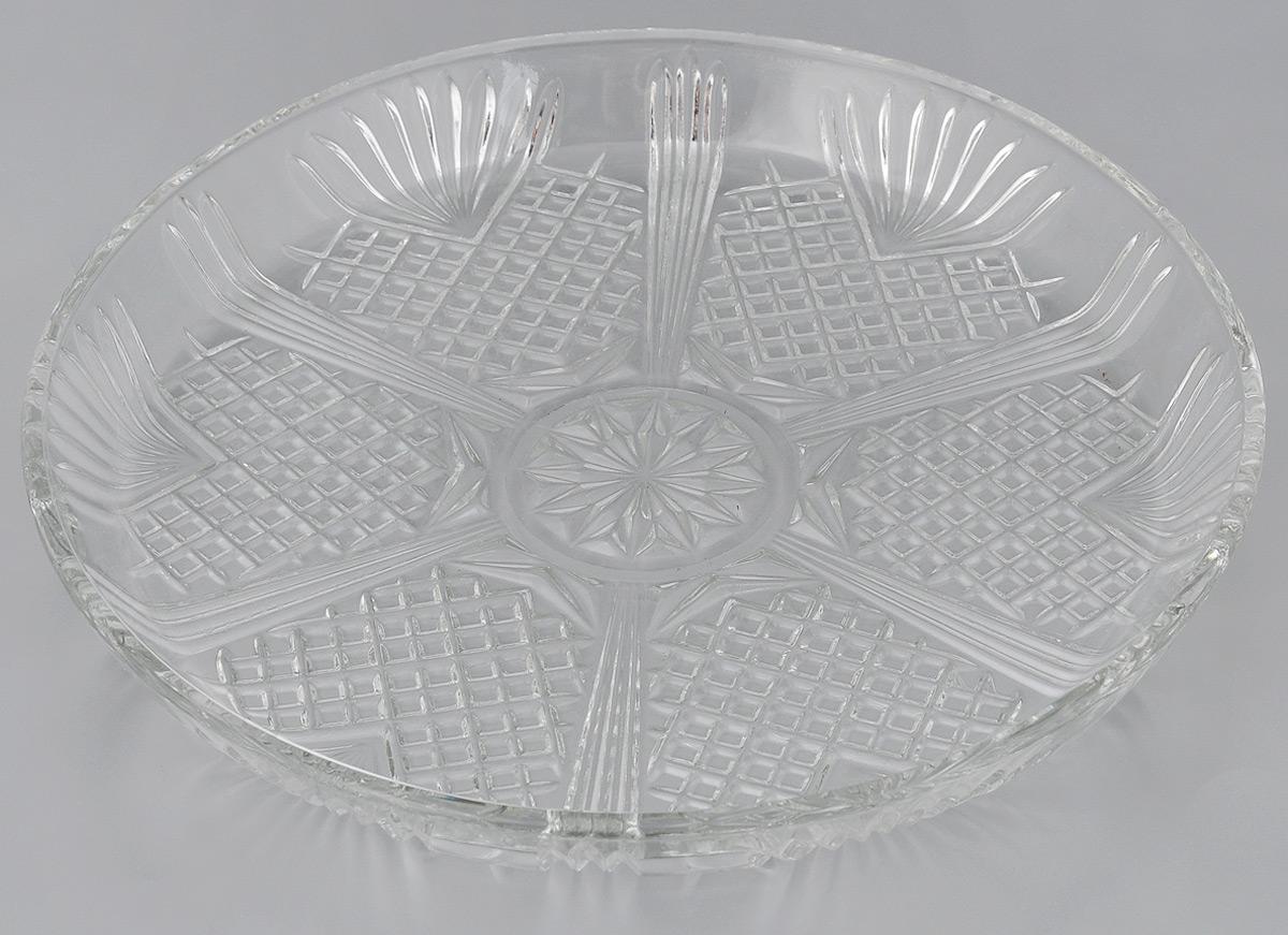 Блюдо сервировочное Bormioli Rocco Selecta, диаметр 30 см222927GQ1021990Оригинальное блюдо Bormioli Rocco Selecta, изготовленное из стекла, прекрасно подойдет для подачи нарезок, закусок и других блюд. Оно украсит сервировку вашего стола и подчеркнет прекрасный вкус хозяйки. Диаметр блюда (по верхнему краю): 30 см.