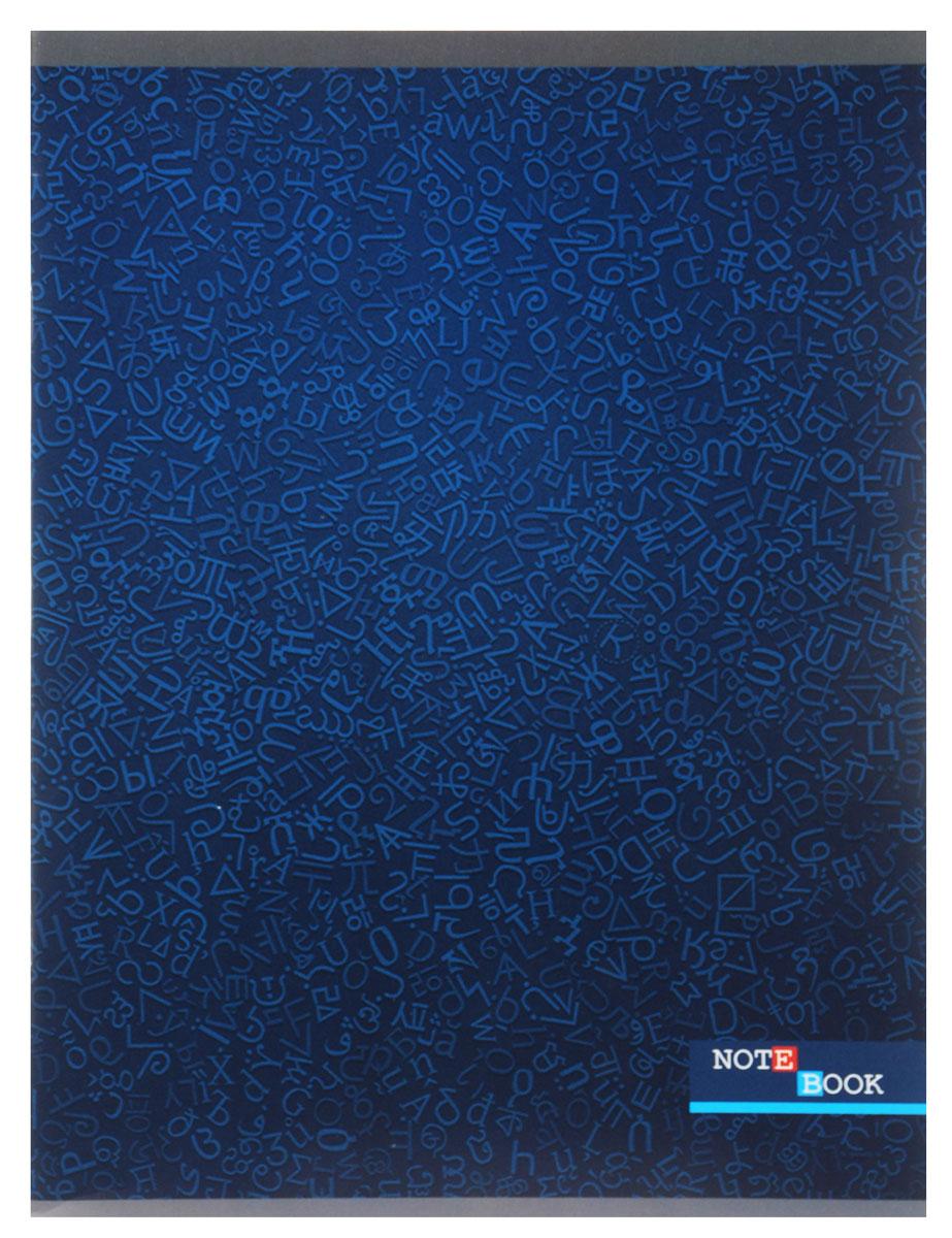 Listoff Тетрадь Синий орнамент 80 листов в клеткуТК4804187Тетрадь Listoff подойдет как школьнику, так и студенту. Выдержанный лаконичный стиль обложки акцентирует внимание на вашей работе. Такая обложка подчеркнет вашу индивидуальность. Внутренний блок состоит из 80 листов белой бумаги. Стандартная линовка в голубую клетку без полей. Листы тетради соединены металлическими скрепками.