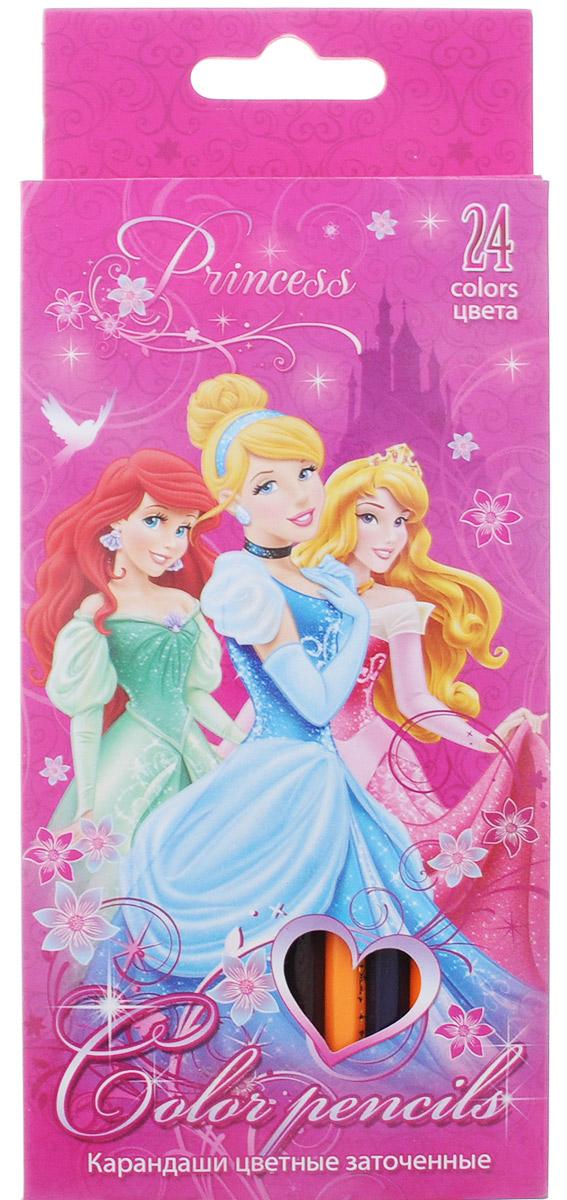 Disney Princess Набор цветных карандашей 24 цвета PRBB-US1-1P-24