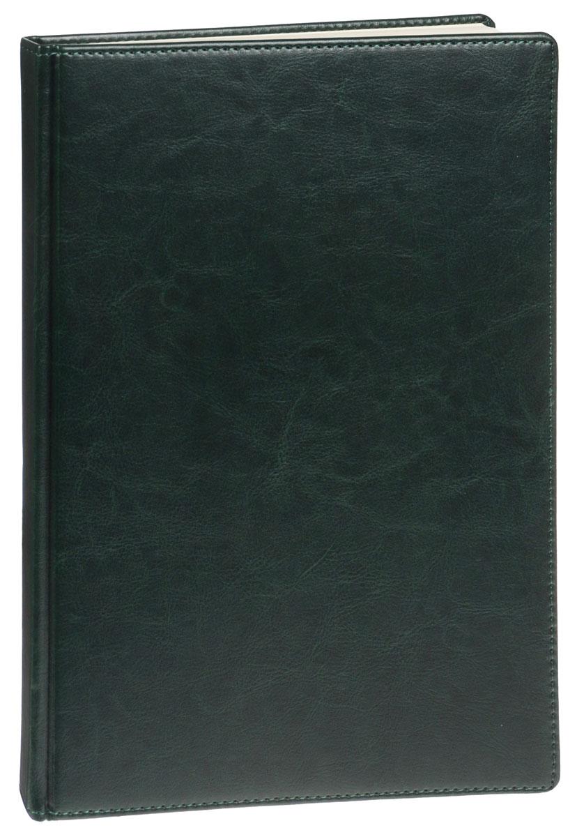 Listoff Книга для записей 160 листов в клетку цвет зеленый КЗК41601655