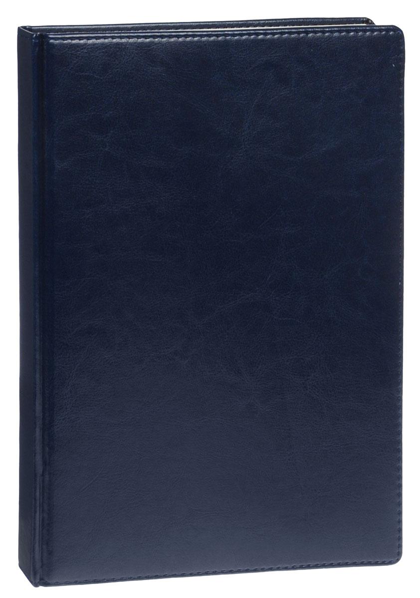 Listoff Книга для записей 160 листов в клетку цвет синийКЗК416085Стильная книга для записей - это дополнительный штрих к вашему имиджу. Опрятная и лаконичная книжка может быть использована не только для личных пометок и записей, но и как недатированный ежедневник. Обложка выполнена из высококачественной искусственной кожи, с прострочкой по периметру и поролоновой подкладкой. Записная книжка Listoff станет достойным аксессуаром среди ваших канцелярских принадлежностей. Она пригодится как для деловых людей, так и для любителей записывать свои мысли, писать мемуары или делать наброски новых стихотворений.