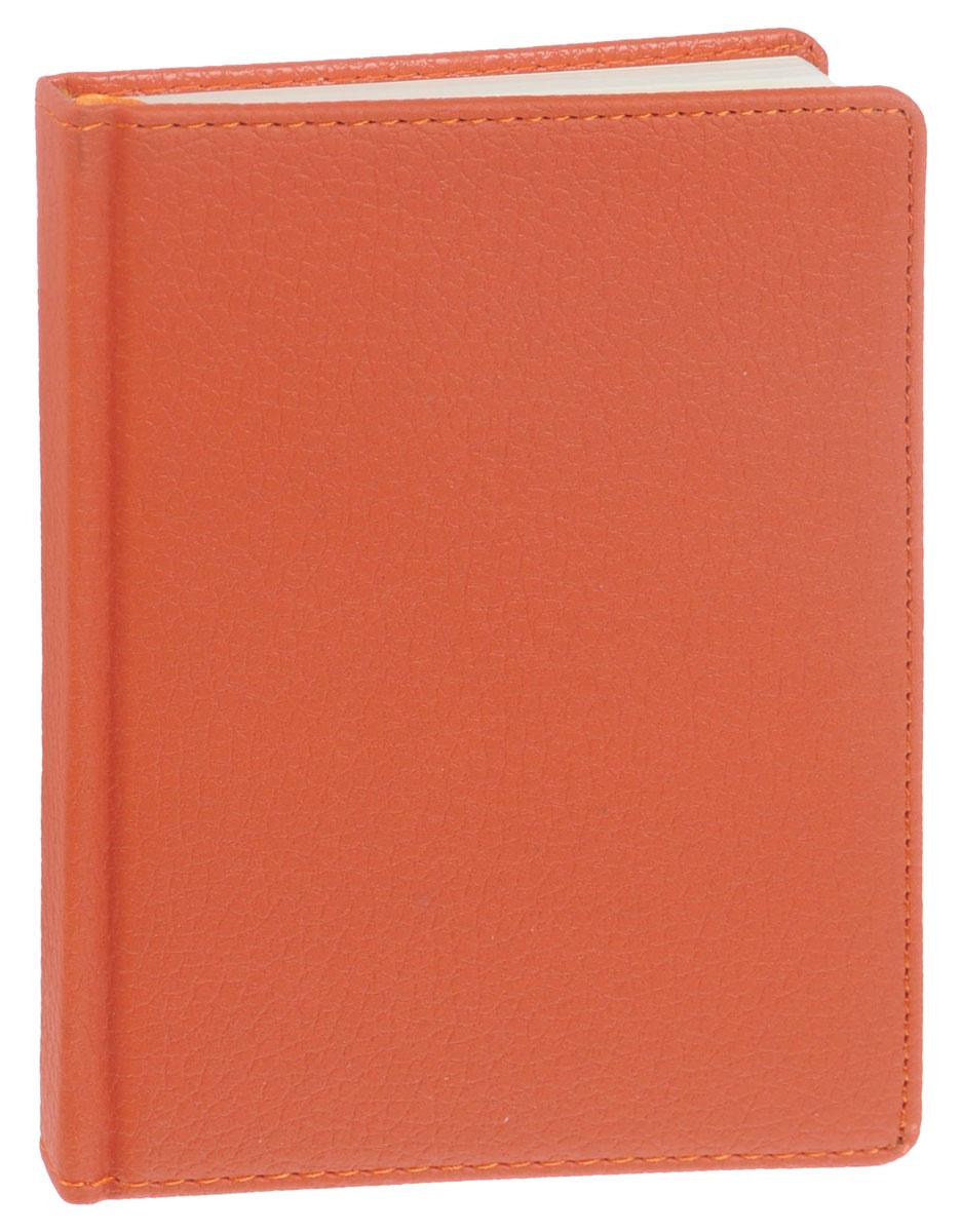 Listoff Записная книжка Zodiac 96 листов в клетку цвет оранжевыйКЗК6961649Записная книжка Listoff Zodiac - незаменимый атрибут современного человека, необходимый для рабочих и повседневных записей в офисе и дома. Записная книжка содержит 96 листов формата А6 в клетку. Обложка выполнена из искусственной кожи и прошита по периметру нитками. Внутренний блок изготовлен из высококачественной плотной состаренной бумаги, что гарантирует чистоту записей и отсутствие клякс. Атласное ляссе поможет быстро найти нужную страницу. Записная книжка Listoff Zodiac станет достойным аксессуаром среди ваших канцелярских принадлежностей. Она подойдет как для деловых людей, так и для любителей записывать свои мысли, рисовать скетчи, делать наброски.