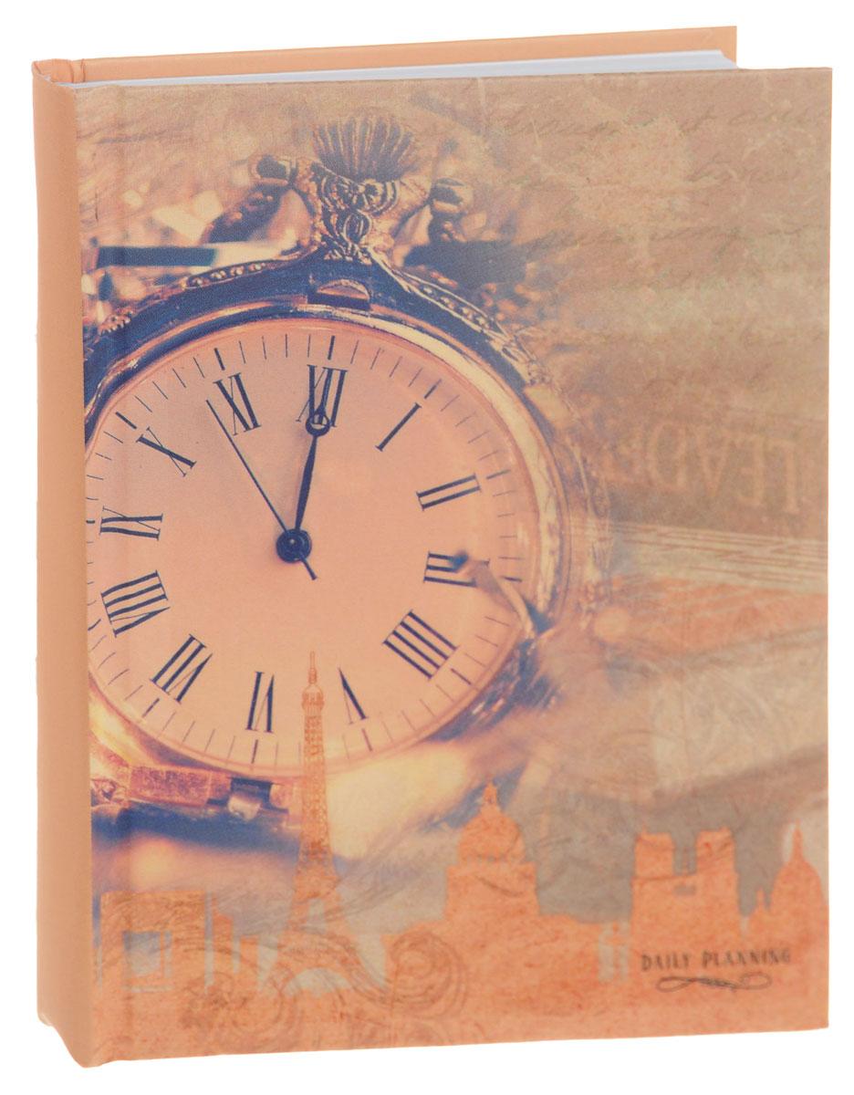 Listoff Ежедневник Часы недатированный 160 листов