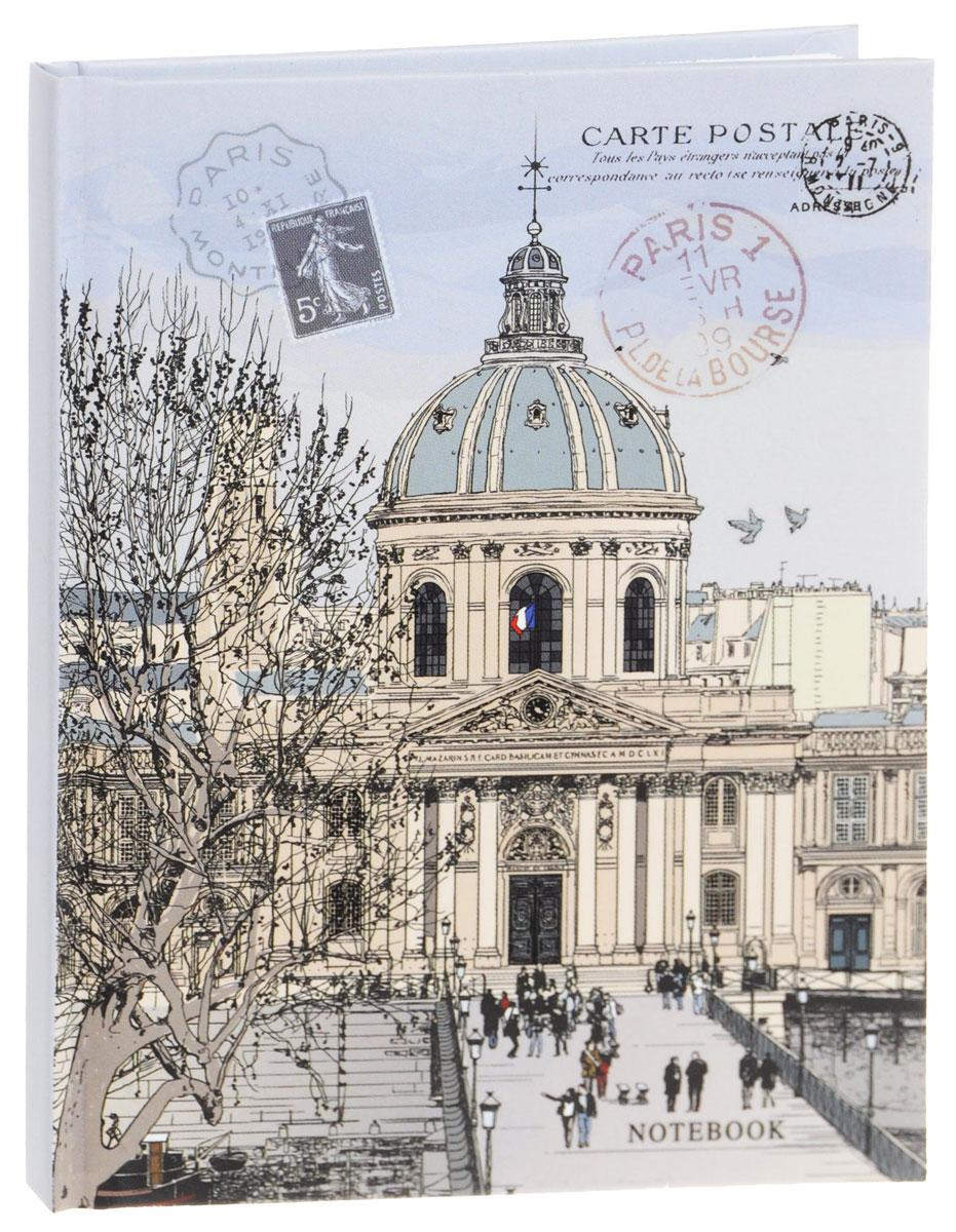 Listoff Записная книжка Открытка из Франции 80 листов в клеткуКЗЛ6801813Записная книжка Listoff Открытка из Франции - незаменимый атрибут современного человека, необходимый для рабочих и повседневных записей в офисе и дома. Записная книжка содержит 80 листов формата А6 в клетку без полей. Обложка, выполненная из ламинированного картона, украшена изображением почтовой открытки из Франции со штампами. Внутренний блок изготовлен из высококачественной плотной бумаги, что гарантирует чистоту записей и отсутствие клякс. Записная книжка Listoff Открытка из Франции станет достойным аксессуаром среди ваших канцелярских принадлежностей. Она подойдет как для деловых людей, так и для любителей записывать свои мысли, рисовать скетчи, делать наброски.